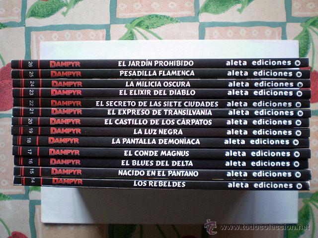 Cómics: Dampyr serie mensual (completa, Aleta Ediciones, Bonelli Cómics, 26 tomos) Nueva - Foto 3 - 54157156
