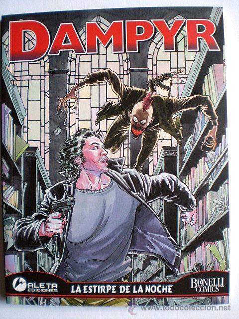 Cómics: Dampyr serie mensual (completa, Aleta Ediciones, Bonelli Cómics, 26 tomos) Nueva - Foto 4 - 54157156