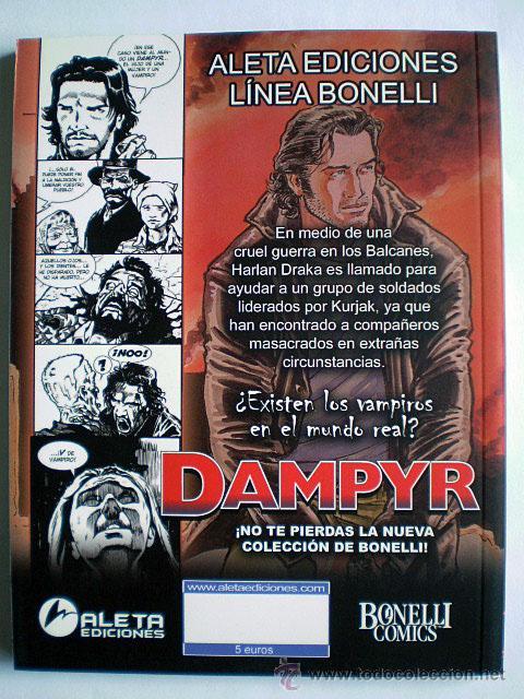 Cómics: Dampyr serie mensual (completa, Aleta Ediciones, Bonelli Cómics, 26 tomos) Nueva - Foto 5 - 54157156