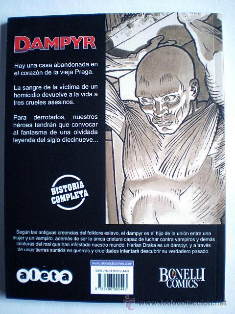 Cómics: Dampyr serie mensual (completa, Aleta Ediciones, Bonelli Cómics, 26 tomos) Nueva - Foto 8 - 54157156