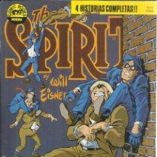 Cómics: THE SPIRIT. WILL EISNER. 4 HISTORIAS COMPLETAS. NORMA EDITIORIAL. BARCELONA. 1988. Lote 54218879