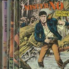 Cómics: OPORTUNIDAD MISTER NO ZINCO 1982 COLECCION DE LOS 8 PRIMEROS NUMEROS. Lote 54239948