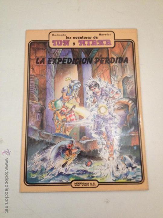 COLECCION COMPLETA DE 1 NUMERO. ION Y MIRKA. EDITORIAL TTARTTALO 1984. HARRIET. (Tebeos y Comics - Comics Colecciones y Lotes Avanzados)