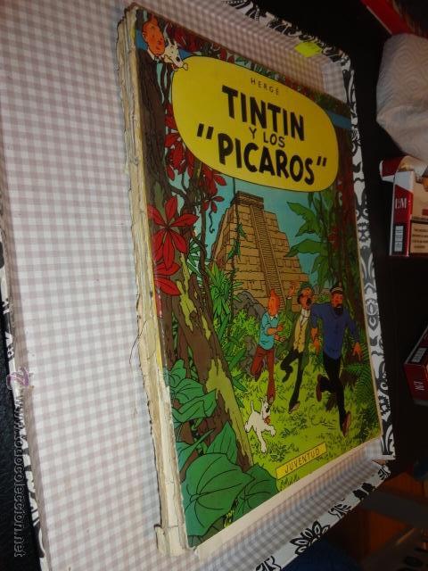 Cómics: tintin y los pícaros de hergé - juventud 1ª ediccion 1976 - - Foto 2 - 54276472