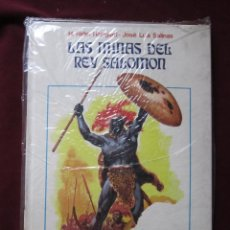 Cómics: LAS MINAS DEL REY SALOMON JOSE LUIS SALINAS (EDICIONES RECORD, SERIE ORO 1976) ARGENTINA TEBENI RARO. Lote 116936795