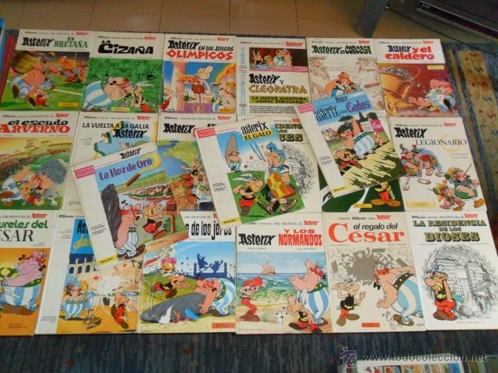 ASTERIX COLECCIÓN PILOTE 3 DE MOLINO 27 DE BRUGUERA. GRAN OPORTUNIDAD. AÑO 1965. LOTE AMPLIADO. (Tebeos y Comics - Comics Colecciones y Lotes Avanzados)