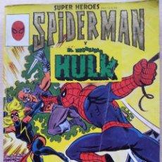 Cómics: TOMO SPIDERMAN Y EL INCREIBLE HULK, COLECCION SUPERHEROES - NÚMEROS DEL 10 AL 12 Y 24 AL 27 - SURCO. Lote 54372947