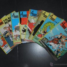 Cómics: (M23) LOS 4 ASES , OFERTAMOS LOS PRIMEROS 8 NUMEROS , OIKOS-TAU , FRANÇOIS GEORGES. Lote 225571110