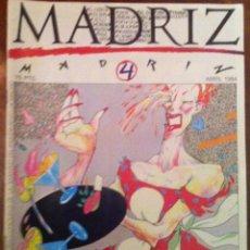 Cómics: MADRIZ Nº 4. 1984. Lote 54560981