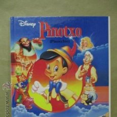 Cómics: ALBUMS DISNEY: PINOTXO - PINOCCHIO (CATALAN/INGLES). Lote 54688239