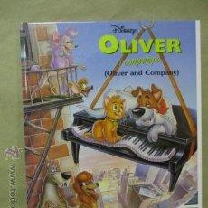 Cómics: OLIVER I COMPANYIA - OLIVER AND COMPANY. CATALAN/INGLES. Lote 54688485