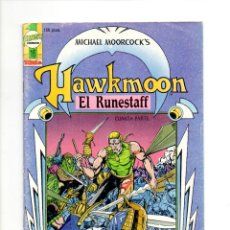 Cómics: HAWKMOON Nº 16 ** EL RUNESTAFF ** TEBEOS SA. Lote 54722181
