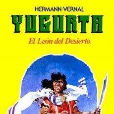 Cómics: YUGURTA EL LEÓN DEL DESIERTO HERMANN-VERNAL. Lote 54727216