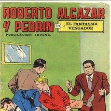 Cómics: ROBERTO ALCAZAR Y PEDRÍN EL VENGADOR FANTASMA. Lote 54729920