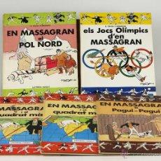 Cómics: 7096 - COLECCIÓN DE 5 EJEM. MASSAGRAN.(VER DESCRIP). CAMARASA. EDI. CASALS. 1983/1991.. Lote 52854611