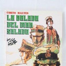 Cómics: CÓMIC CORTO MALTÉS. LA BALADA DEL MAR SALADO - HUGO PRATT - ED. NEW COMIC, AÑO 1990. Lote 54816203