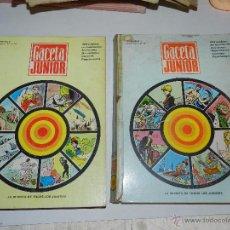 Cómics: (M15) GACETA JUNIOR DEL NUM 1 AL 24 , 2 VOLUMENES ENCUADERNADOS DE EDITORIAL. Lote 54830149
