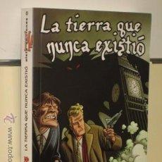 Comics: MARTIN MYSTERE LA TIERRA QUE NUNCA EXISTIO - ALETA OFERTA (ANTES 19,00 €). Lote 74768939
