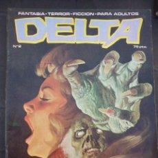 Cómics: DELTA Nº2, AÑO 1980. LA MALDICIÓN DEL PLENILUNIO. EDICIÓN DELTA. . Lote 54919492