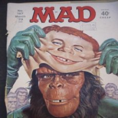 Cómics: MAD. MARCH 73 THE PLANET OF DE APES. EN INGLÉS. Lote 54919668