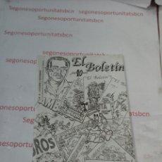 Cómics: EL BOLETIN - N°41 - 10 ANIVERSARIO. Lote 54942109