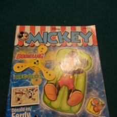 Cómics: MICKEY Nº 21 - DISNEY - RBA 2002 - COMIC (PATO DONALD - GOOFY - LOBITO - NARCISO - MADAME MIM). Lote 54949292