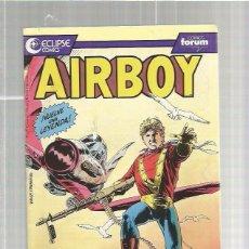 Cómics: AIRBOY 1. Lote 54988256