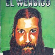 Cómics: EL WENDIGO NÚMERO 46. VERANO DE 1989. Lote 54996790