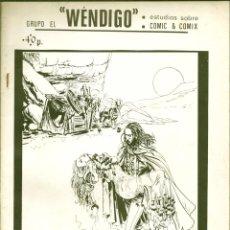 Cómics: EL WENDIGO NÚMERO 6. Lote 186237570