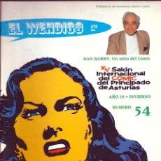 Cómics: EL WENDIGO NÚMERO 54. Lote 55012312
