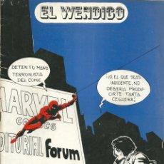Cómics: EL WENDIGO NÚMERO 26. Lote 55012393