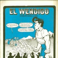 Cómics: EL WENDIGO NÚMERO 14. Lote 55012665
