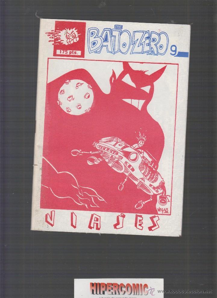 BAJO ZERO Nº 9 FANZINE AÑOS 80 (Tebeos y Comics - Comics otras Editoriales Actuales)