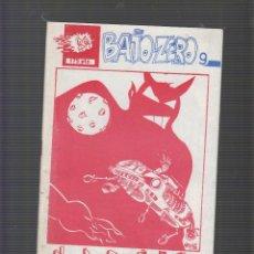 Cómics: BAJO ZERO Nº 9 FANZINE AÑOS 80. Lote 55081761