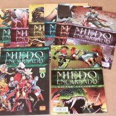 Cómics: MIEDO ENCARNADO 0 1 2 3 4 5 6 7 (COMPLETA 8 EJEMP.- SERIE PRINCIPAL) - PANINI 2011 - MUY BUEN ESTADO. Lote 55110738