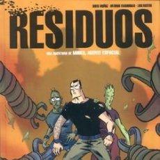 Cómics: RESIDUOS - MUÑOZ & LUIS BUSTOS - GLÉNAT. Lote 55122283