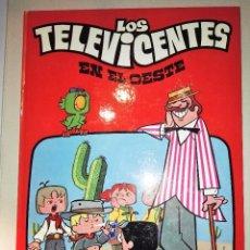 Cómics: LOS TELEVICENTES EN EL OESTE. Lote 55144549