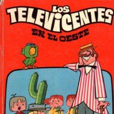 Cómics: LOS TELEVICENTES EN EL OESTE (EDICLAS, 1976). Lote 55364509