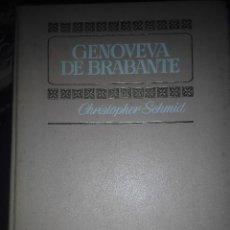 Cómics: COMIC GENOVEVA DE BRABANTE COMIC HISTORIAS A COLOR TOMO. Lote 55364644