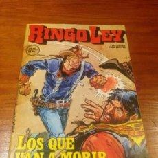 Fumetti: RINGO LEY Nº 12. LOS QUE VAN A MORIR. EDICIONES ALONSO 1978. JORDI BUXADÉ.. Lote 55369969