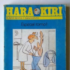 Cómics: REVISTA HARA KIRI. HARAKIRI. HUMOR BESTIA Y SANGRIENTO. ESPECIAL TOMO I - 1. NUMEROS 11-16. COMIC. . Lote 55400027