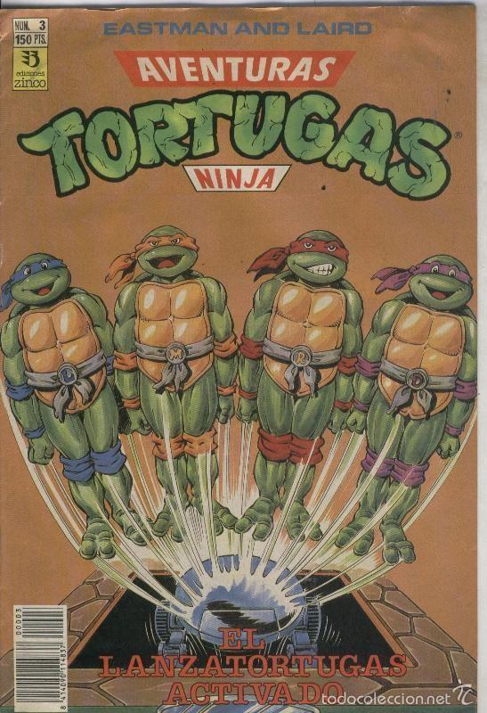 TORTUGAS NINJA NUMERO 3 (Tebeos y Comics Pendientes de Clasificar)