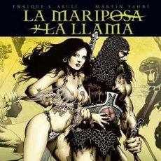 Cómics: LA MARIPOSA Y LA LLAMA. Lote 55492395