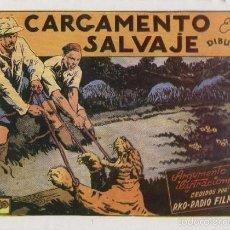 Cómics: PELICULAS CISNE: CARGAMENTO SALVAJE. Lote 55495013