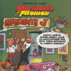 Cómics: GRANDES DEL HUMOR NUMERO 03: MORTADELO Y FILEMON: EXPEDIENTE J. Lote 55508396