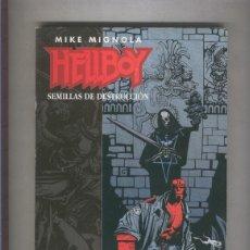 Cómics: HELLBOY: SEMILLAS DE DESTRUCCION, RETAPADO EDITORIAL. Lote 55518910
