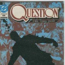 Cómics: QUESTION NUMERO 02: MARIPOSA. Lote 55533849