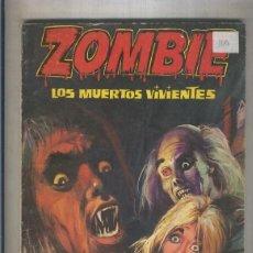 Cómics: ZOMBIE: LOS MUERTOS VIVIENTES. Lote 55542300
