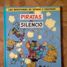 Cómics: FRANQUIN - SPIROU Y FANTASIO - LOS PIRATAS DEL SILENCIO + EL SUPER QUICK - CÍRCULO DE LECTORES. Lote 55552824