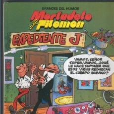 Cómics: GRANDES DEL HUMOR NUMERO 01: MORTADELO Y FILEMON: EXPEDIENTE J. Lote 55564041